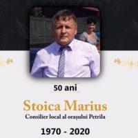 Ferpar / Consilierul local petrilean Marius Stoica s-a stins din viață