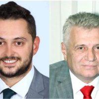 Consilierii județeni Ion Bădin și Alin Țambă propuși pentru funcțiile de vicepreședinți ai CJH