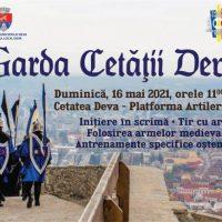 Garda cetății din Deva revine la datorie