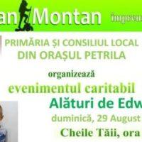 """Acțiunile sportive și caritabile organizate de Asociația """"San Montan"""" din Petrila continuă și în acest an"""
