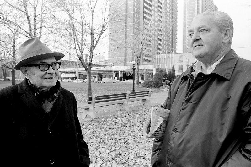 candid, posed, portrait, street, Toronto, Allan Gardens, Avard Woolaver