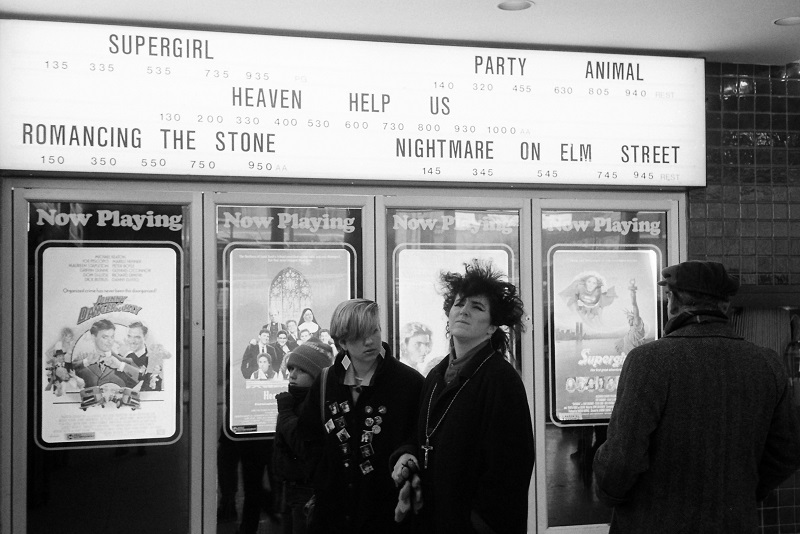 #tbt, Throwback Thursday, nostalgia, Yonge Street, Toronto, movie theatre, 1985, Avard Woolaver