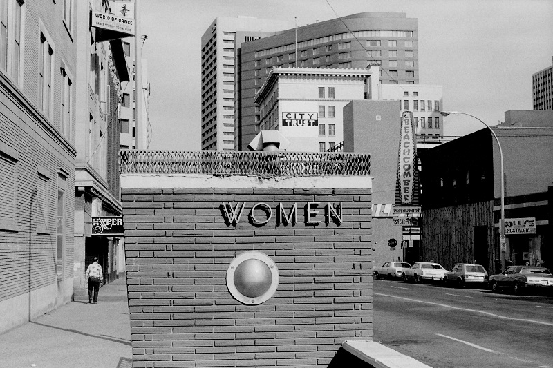 women, Friday Roundup, blog, black and white, Edmonton, 1979,
