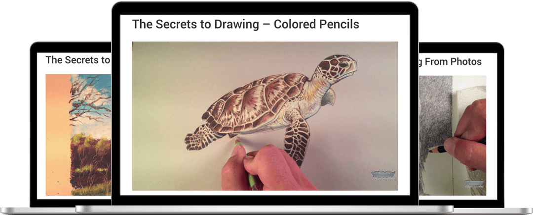 Colored Pencil Course HD Videos