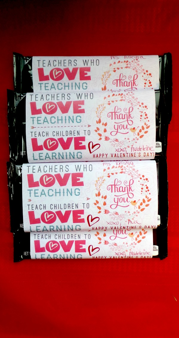 Teacher Valentine Printable