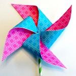 DIY Paper Pinwheel