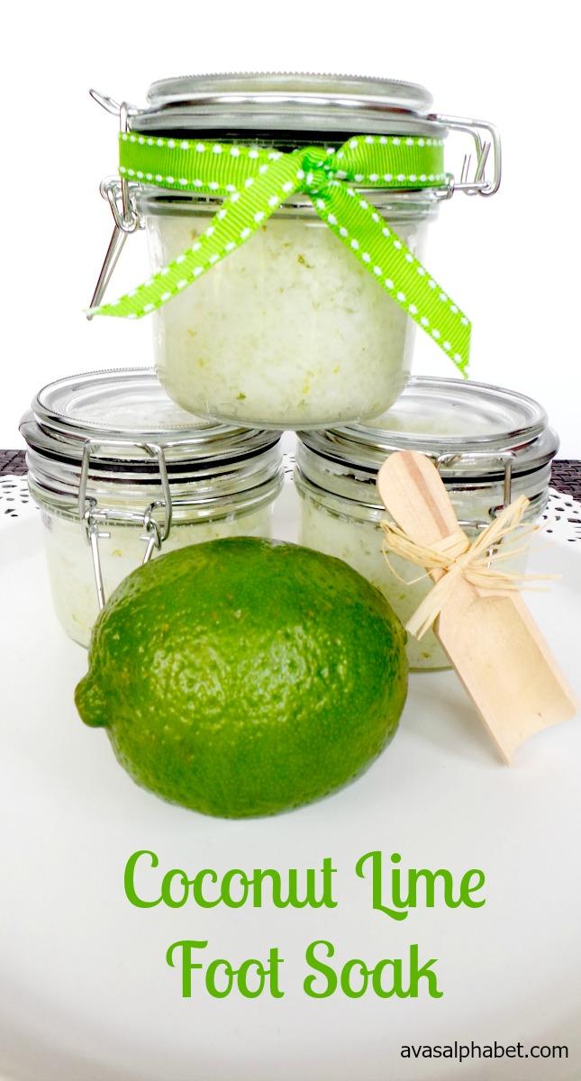 Coconut Lime Foot Soak