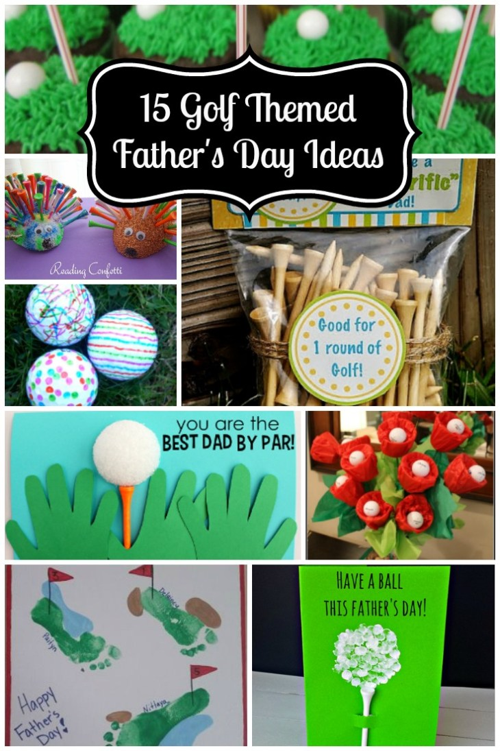 15 Golf Themed Father's Day Ideas