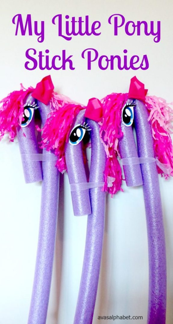 My Little Pony Inspired Stick Ponies - Best of 2016
