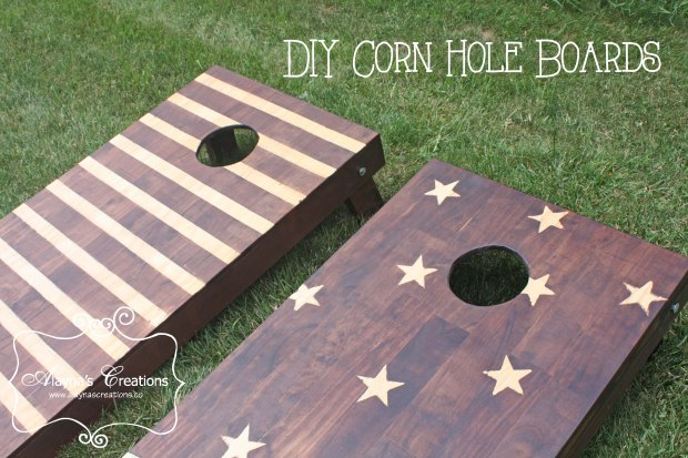 DIY Corn Hole Boards