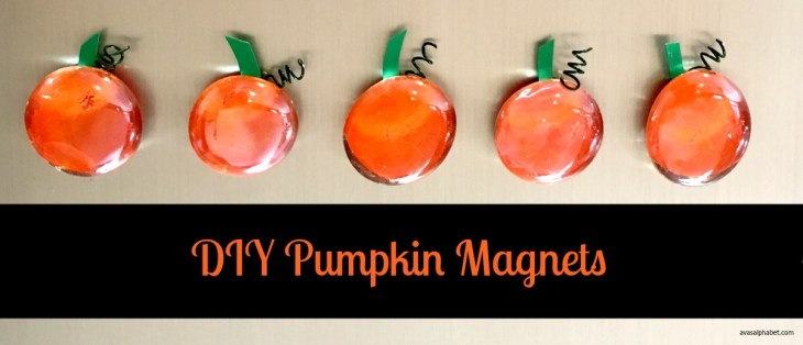 DIY Pumpkin Magnets