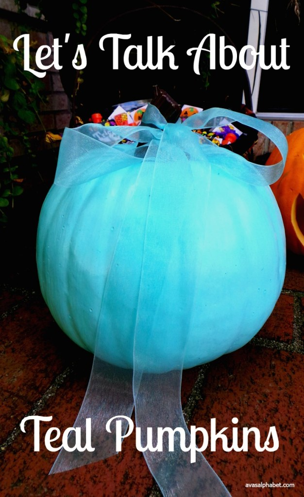 Let's Talk About Teal Pumpkins from Ava's Alphabet