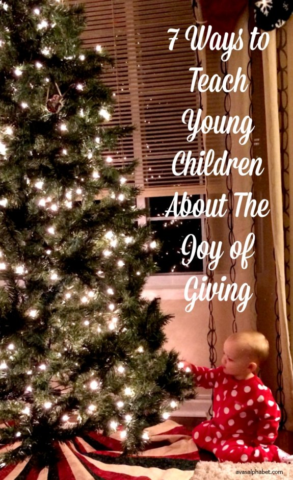 7 Ways to Teach Young Children About the Joy of Giving - Best of 2016