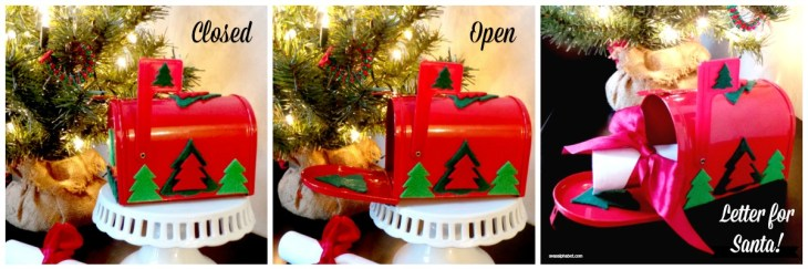 Letters to Santa - mailbox crafts and round-up of free printable letters