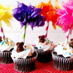 Dr Seuss Truffula Tree Cupcake Toppers from Ava's Alphabet