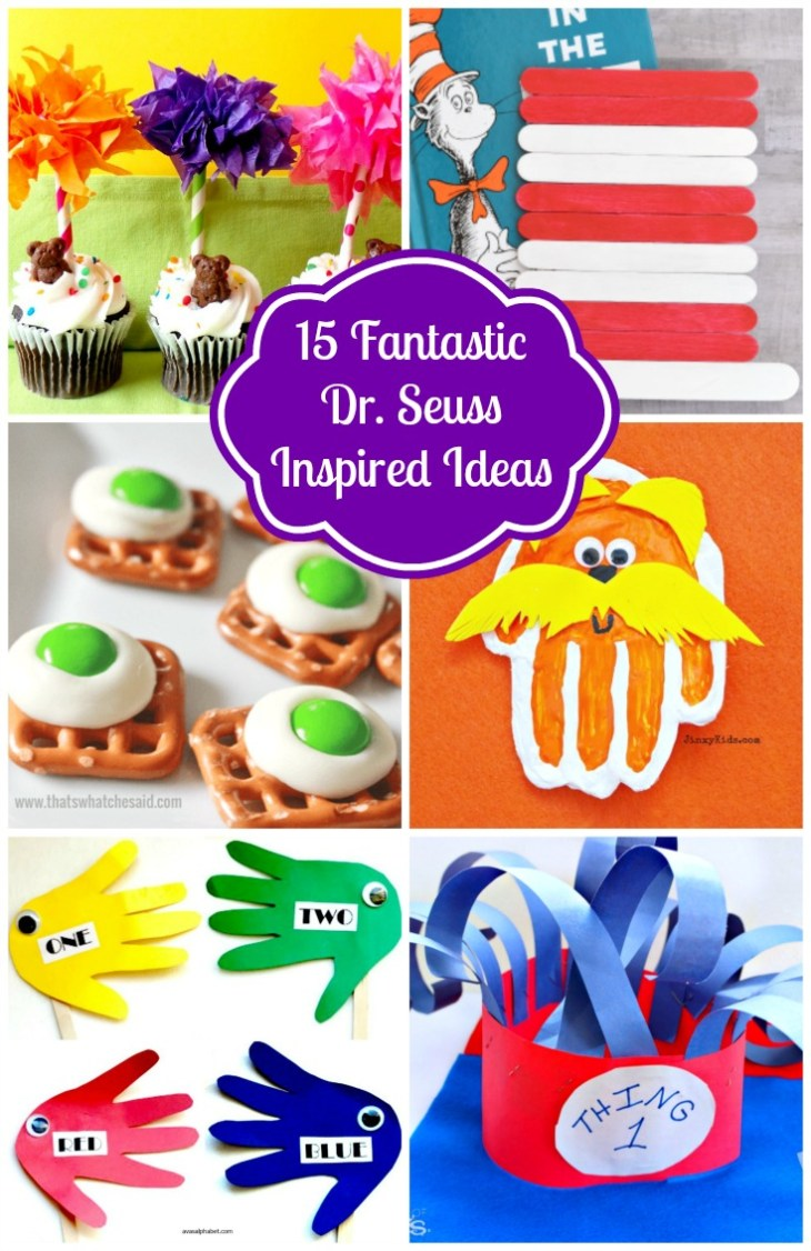 15 Fanrtastic Dr. Seuss Inspired Ideas from Ava's Alphabet