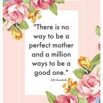 There Is No Way To Be A Perfect Mother Printable from Ava's Alphabet