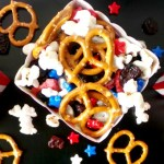 Patriotic Snack Mix from Ava's Alphabet