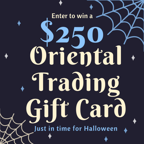 Win a $250 Oriental Trading Gift Card from Ava's Alphabet