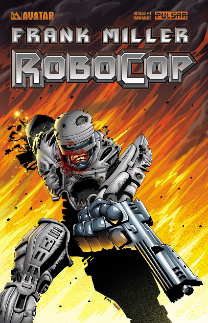 Robocop, comics series by Frank Miller