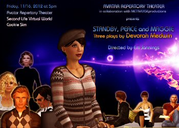 Plays by Devorah Medwin - Virtual World Theater