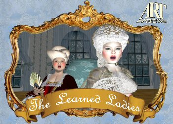 """Moliere's """"The Learned Ladies""""- Virtual World Theater"""
