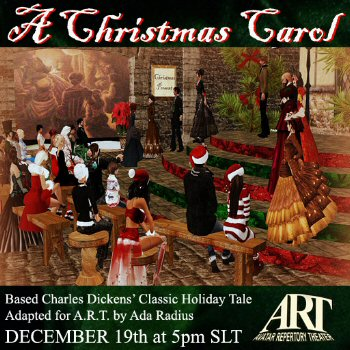 A Christmas Carol - Virtual World Theater