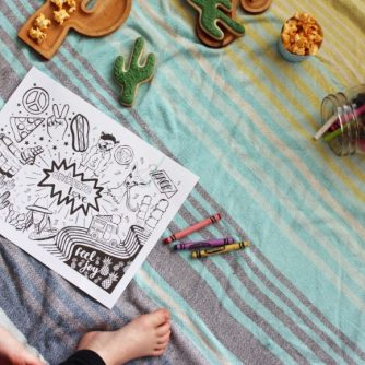 Kid's Colouring Sheet