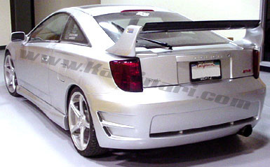 Rearbumper For Toyota Celica 2000 2007 AVB Sports