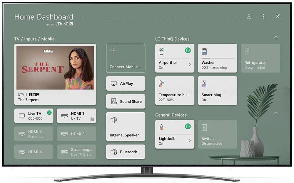 tv led nanocell ultra hd 4k lg nano92 100 hz alpha 7 gen 4 hdmi 2 1 hdr dolby vision
