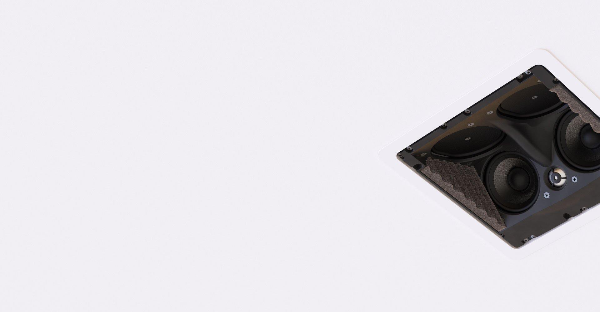 Enceinte encastrée plafond