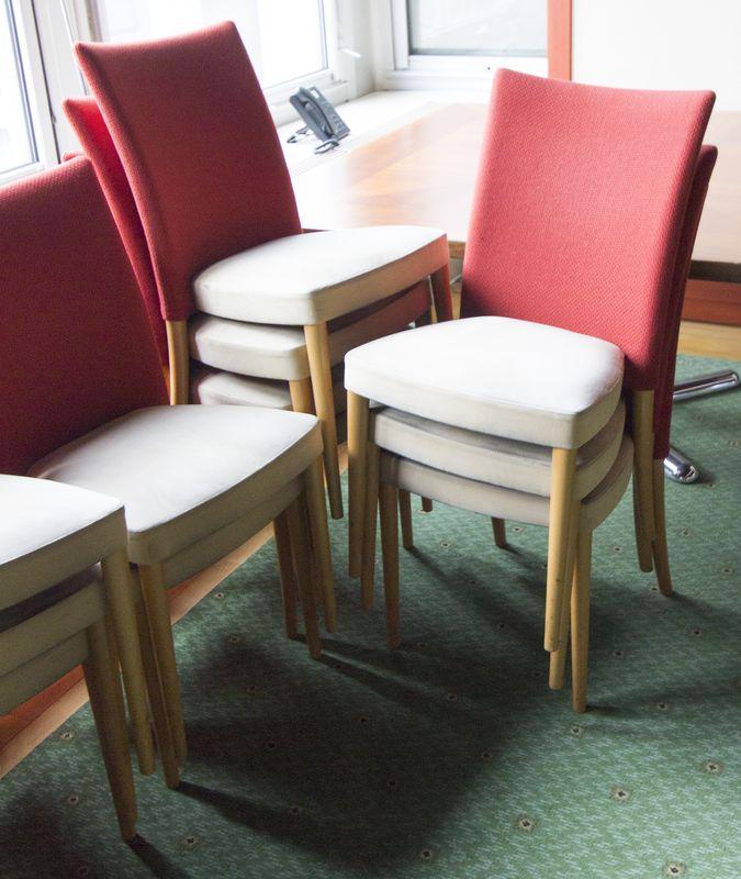 Chaises Empilables De Restaurant De Marque Potocco Assise