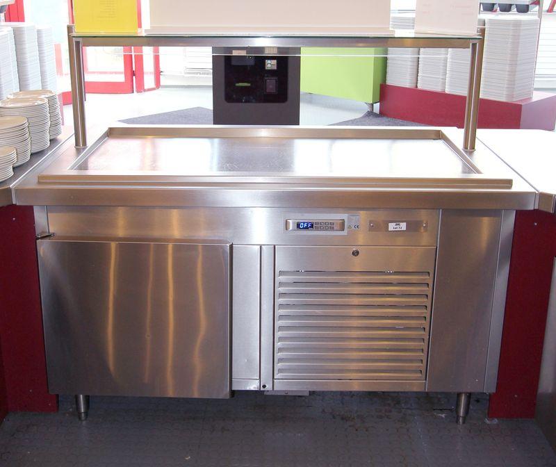 Comptoir Refrigere De Marque Vauconsant Ouvrant Par Une