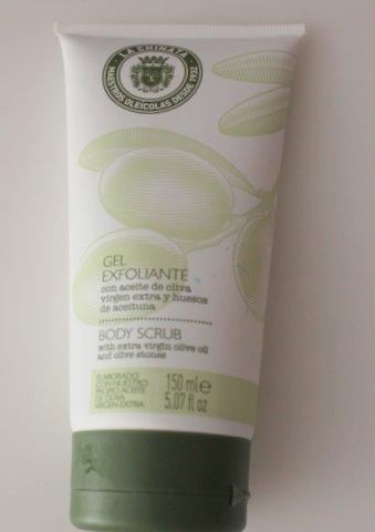 Exfoliante corporal La Chinata a base de aceite de oliva virgen