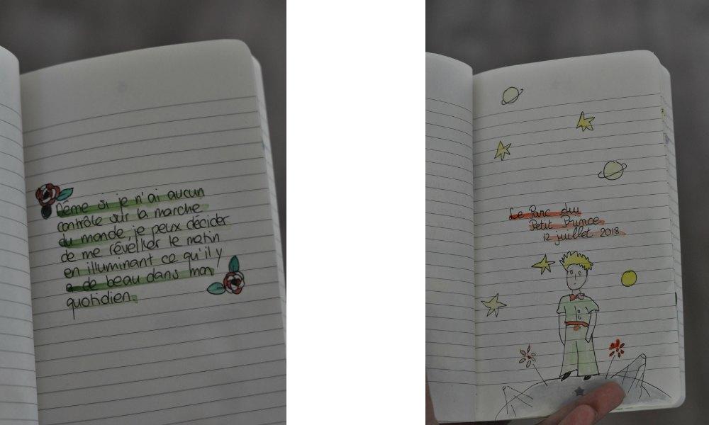 """Billet """"Des cahiers et des idées"""" paru sur www.avecpanache.ch"""