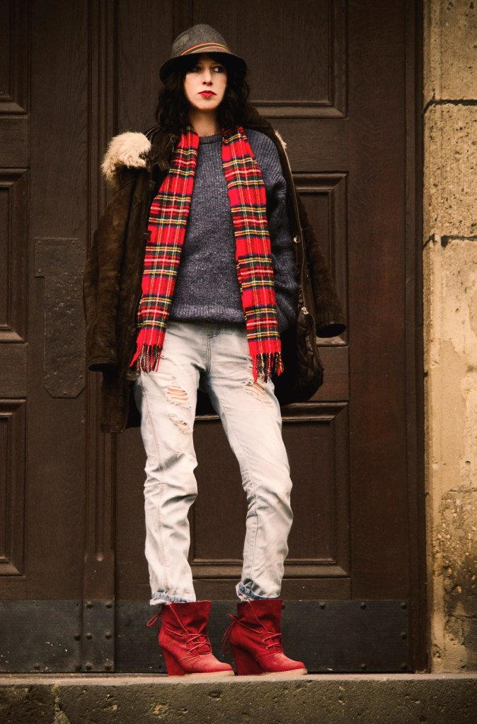streetstyle winter outfit