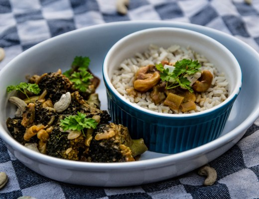 vegane Rezepte, Brokkoli Curry Pfanne