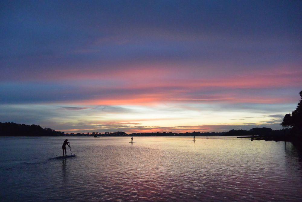 semaine du golfe petit dejeuner au lever du soleil ou apero au coucher avel pad