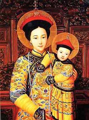 Resultado de imagem para nossa senhora da china