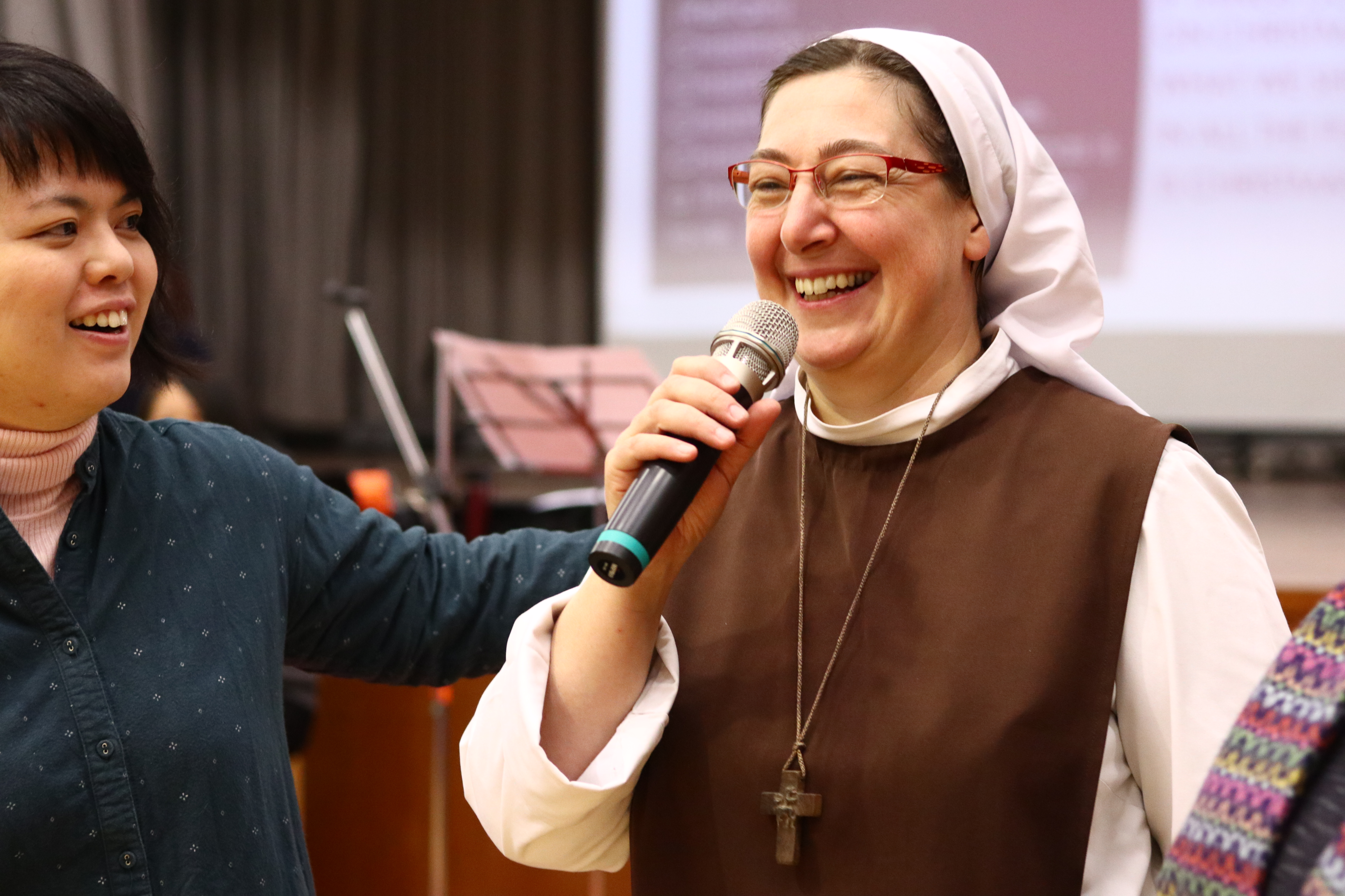 Crossover with Sr. Marie Anastasia