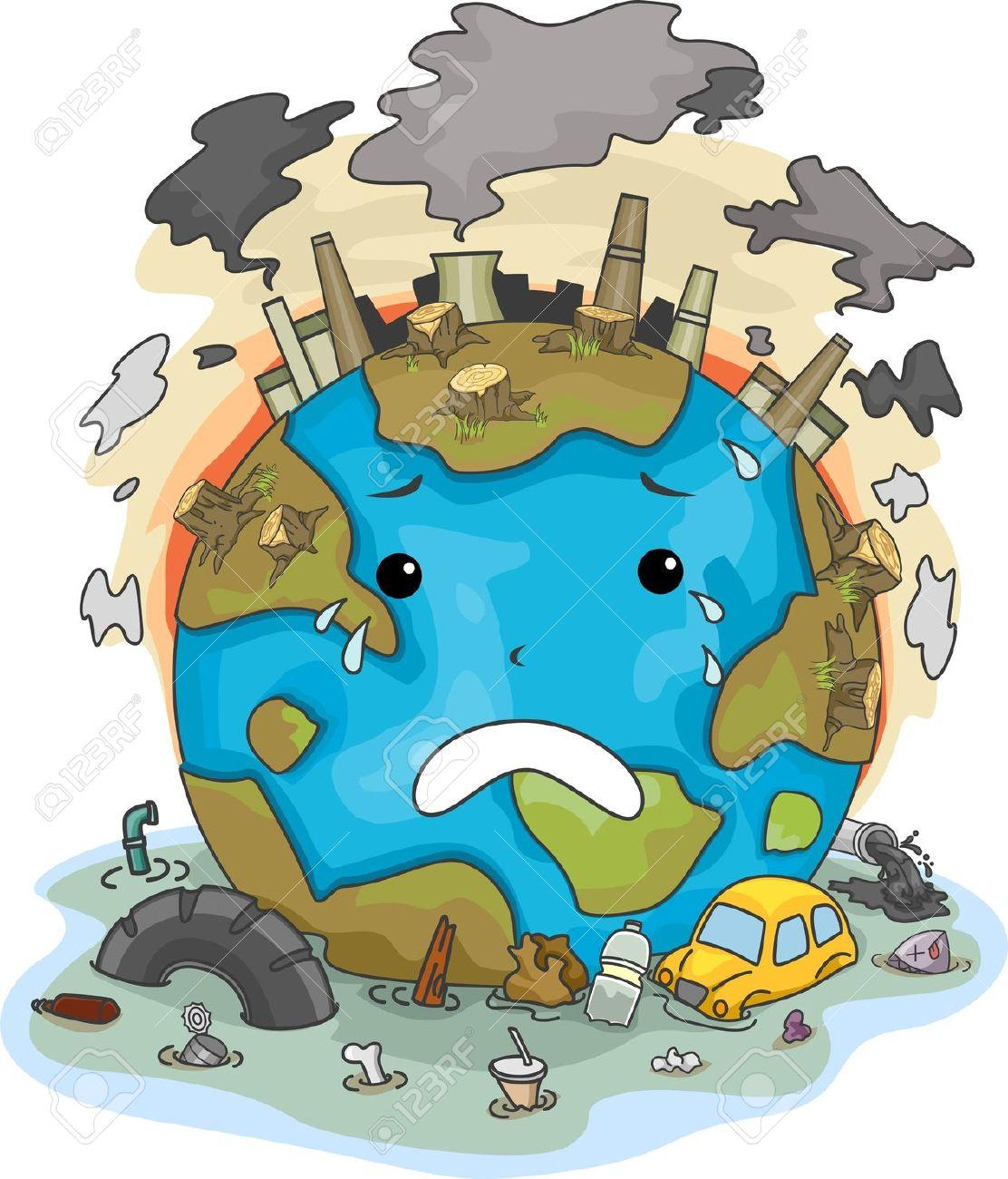 Resultado de imagen de contaminacion atmosferica dibujos