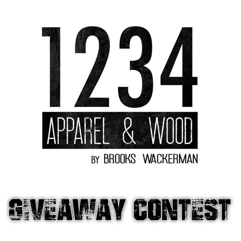1234 Apparel & Wood giveaway