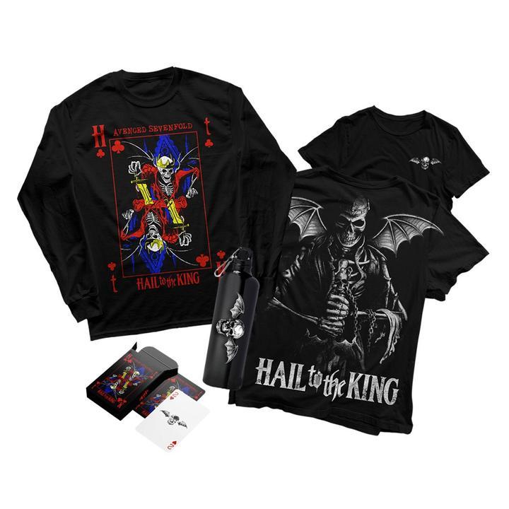 hail to the king boxset a7x world