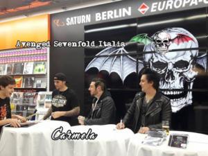 Signing Session di Berlino 01-12-2016