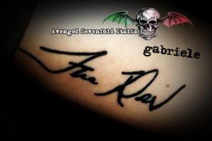 Tatuaggi: Autografi