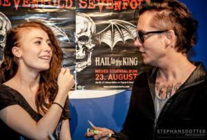 Pre-listen di Hail to the King a Stoccolma 07-2013