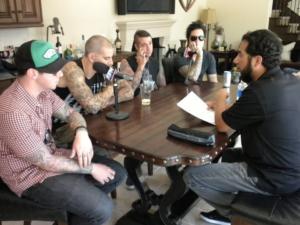 Intervista a casa di Matt 2010