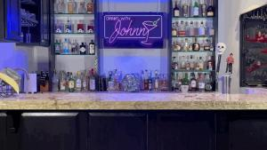 Drinks with Johnny Zoom Background