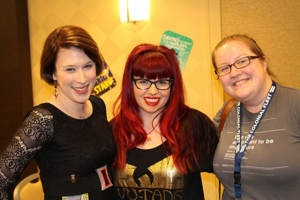 Teija, Kelly Sue DeConnick , Sarah © Sarah Brown 2014.