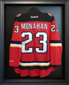 calgary custom framing jersey sports